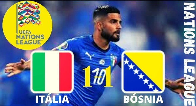 Na Rodada 1, Itália 1 X 1 Bósnia-Herzegovina