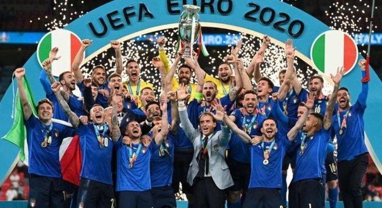 A Itália, agora, duas vezes campeã da Europa