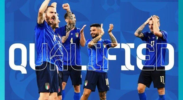 A Itália já nas oitavas