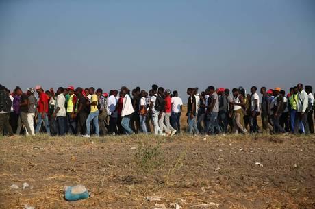 Oito pessoas foram levadas para hospitais na Itália