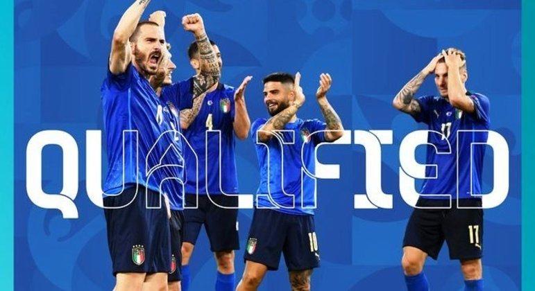 Itália, com Bonucci à frente