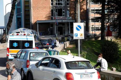 Itália pode ter colapso dos hospitais