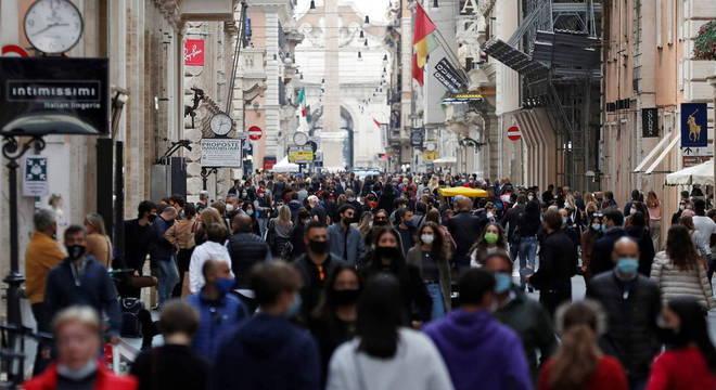 O governo italiano prorrogou o estado de emergência até 31 de janeiro de 2021
