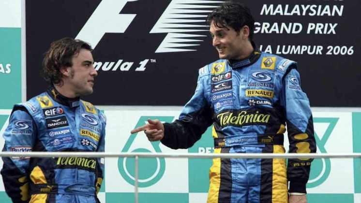 Itália - Giancarlo Fisichella - GP da Malásia 2006.