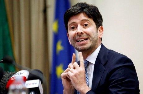 Roberto Speranza pediu uso de máscaras à noite