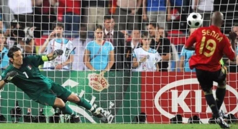 Italia x Espanha 2008