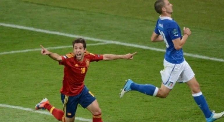 Italia x Espanha 2012