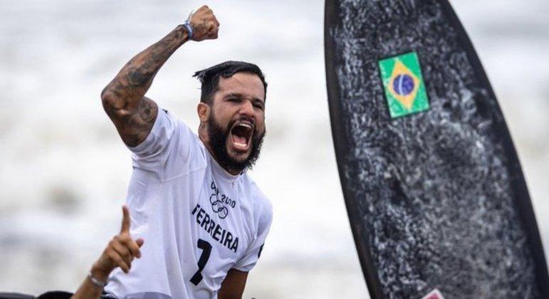 Ítalo Ferreira, o primeiro ouro do Brasil nos Jogos de Tóquio/2020