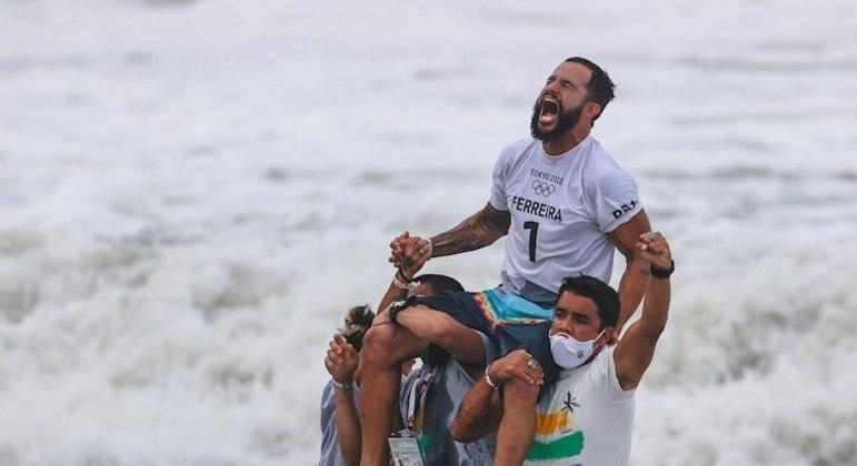 Ítalo Ferreira ganhou a medalha de ouro por mérito próprio