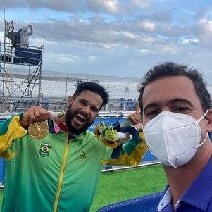 Ítalo Ferreira e Guilherme Pereira, ouro do Brasil