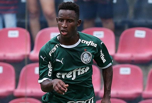 Iván Angulo - Atacante - 22 anos - Contrato até: 31/12/2024