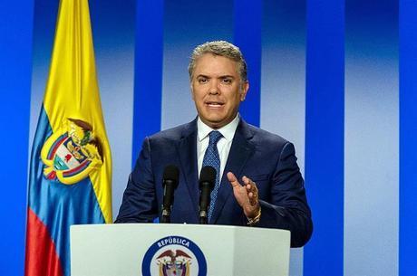 Presidente colombiano Iván Duque fez pronunciamento em cadeia nacional