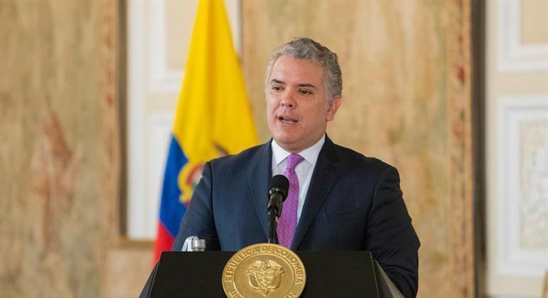 Ivan Duque, presidente da Colômbia