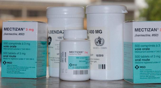 Ivermectina é usada para tratamento de parasitas, como sarna