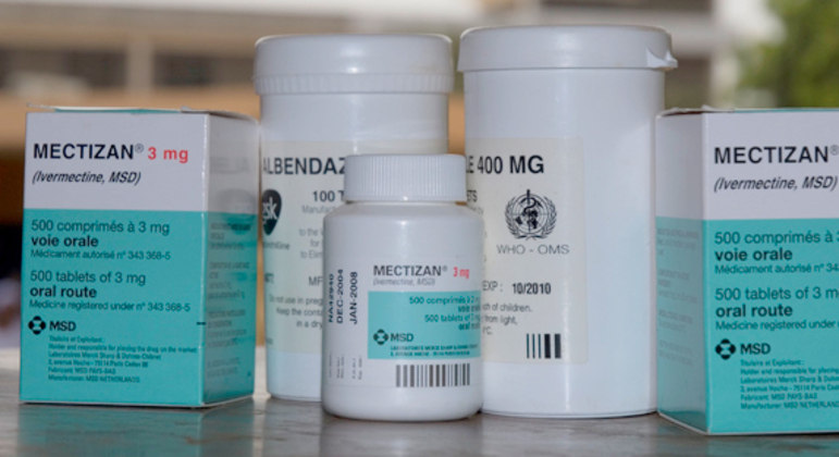 Ivermectina é um antiparasitário, muito usado para tratamento de piolho e sarna
