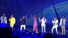 Ivete Sangalo relembra show com Paulinho, vocalista do Roupa Nova