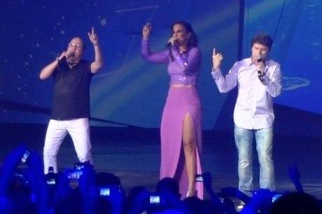 Ivete dividiu vocais com Roupa Nova em 'O Sal da Terra'