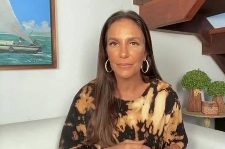 Ivete Sangalo adere à campanha contra câncer