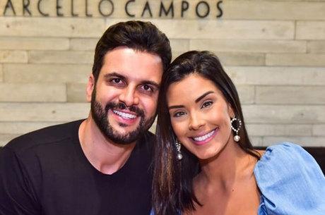 Ivy Moraes e Rogério Fernandes se casariam este mês