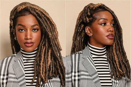 IZA  já usou vários tipos de cabelo ao longo da carreira