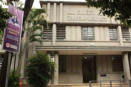 Colégio fica na região Centro-Sul de BH