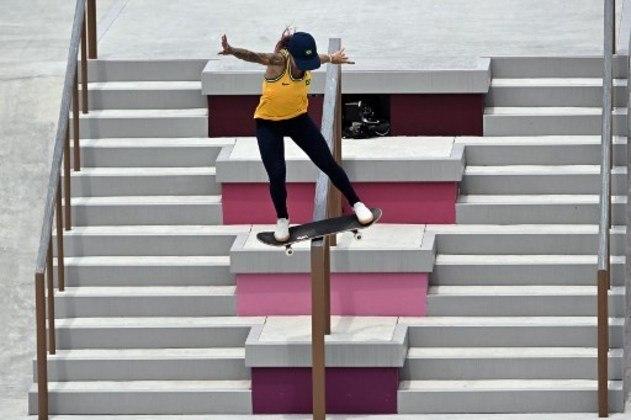 Já a número 4 do mundo Letícia Bufoni também não conseguiu a vaga na final do skate street. Letícia brigou com a norte-americana Alexis Sablone até a última rodada, mas terminou em 9º lugar.