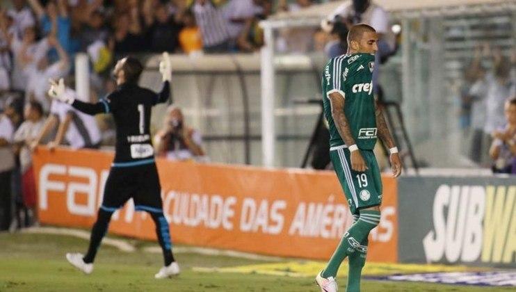 Já contra o Palmeiras, o Santos jogou 109 vezes com o rival na Vila. Foram 47 vitórias, 19 empates e 43 derrotas