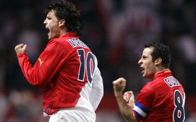 Já em 2004, a grande surpresa foi o Monaco alcançar a decisão da Champions. A equipe ficou em primeiro do grupo C e eliminou Lokomotiv Moscou, Real Madrid e Chelsea. Na grande final, acabou perdendo para o Porto.