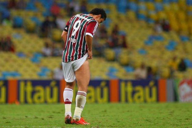 Já em 2013, o artilheiro sofreu uma grave lesão na coxa direita em 31 de agosto. Não jogou mais naquele ano. Assistiu da arquibancada o rebaixamento do Fluminense no campo - queda que não se confirmou no tribunal.