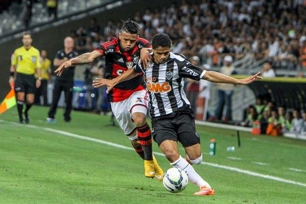 Já em 2014, o Flamengo fez 2 a 0 no jogo de ida das semifinais da Copa do Brasil contra o Atlético-MG. No entanto, no jogo de volta chegou a abrir o placar, mas tomou uma virada, foi goleado por 4 a 1 e eliminado da competição.