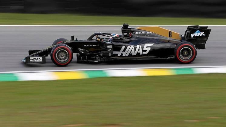 Já em 2019, sofreu com as dificuldades da Haas. Ainda foi o melhor piloto do time, fechando a temporada com 20 pontos e o 16º lugar