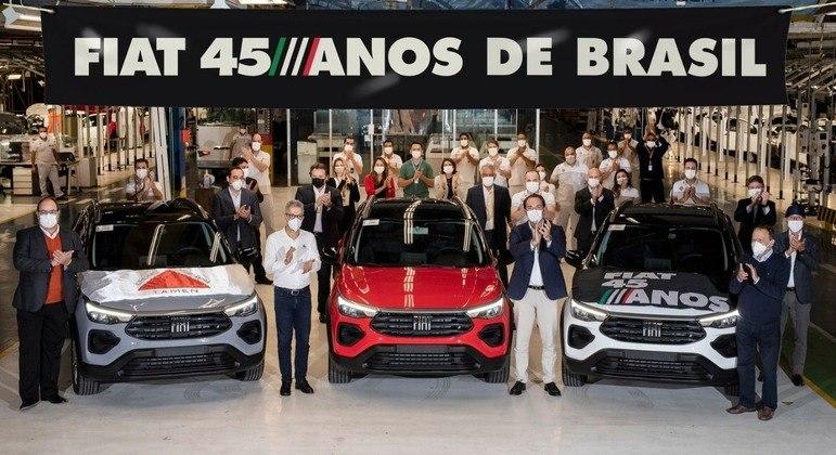 Carro já é produzido em Minas Gerais