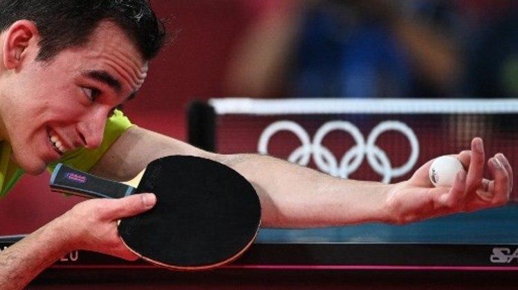 Já Hugo Calderano chegou às quartas de final do tênis de mesa. O brasileiro derrotou sul-coreano Jang Woo-Jin nas oitavas de final por 4 a 3. Hugo Calderano é o primeiro mesa-tenista brasileiro a chegar nas quartas de final das Olimpíadas.