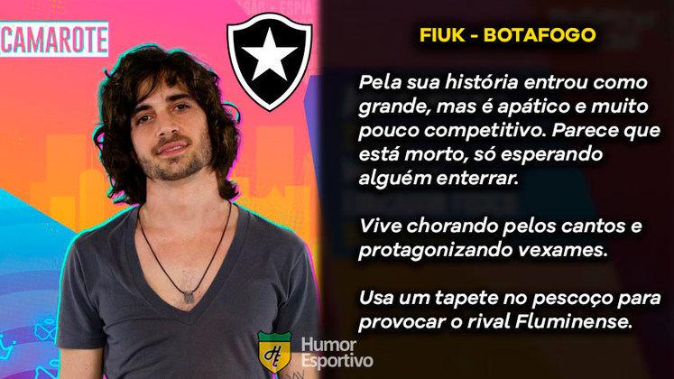 Já imaginou se comparássemos os participantes do polêmico Big Brother Brasil desse ano com os clubes que estão na Série A do Brasileirão? O Humor Esportivo fez essa brincadeira e o resultado você confere nessa galeria! Para começar, Fiuk seria o Botafogo.