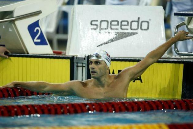 Já Leonardo de Deus anotou a sua melhor marca da carreira nos 200m borboleta e garantiu vaga na semifinal. O brasileiro fez o terceiro melhor tempo das eliminatórias com 1min54s83.