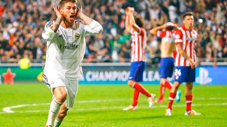 Já na temporada seguinte do título do Bayern, o Real Madrid conquistou a Champions após golear o Atlético de Madrid por 4 a 1 no Estádio da Luz, em Lisboa.