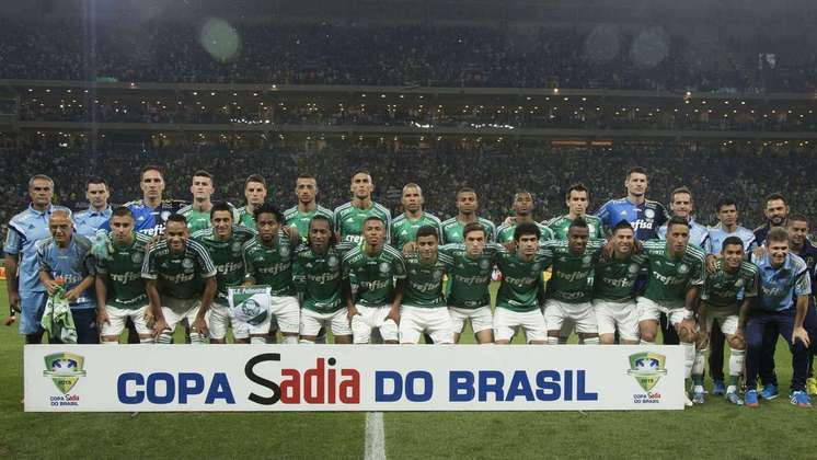 Já no ano seguinte, em 2015, o Alviverde conquistou seu primeiro título em sua nova casa. Em cima do Santos, com o último pênalti batido por Fernando Prass, venceu a Copa do Brasil