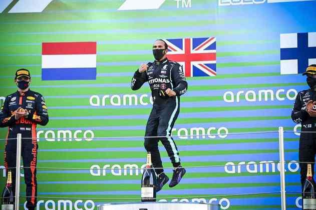 Já no GP da Espanha, venceu sem maiores dificuldades.