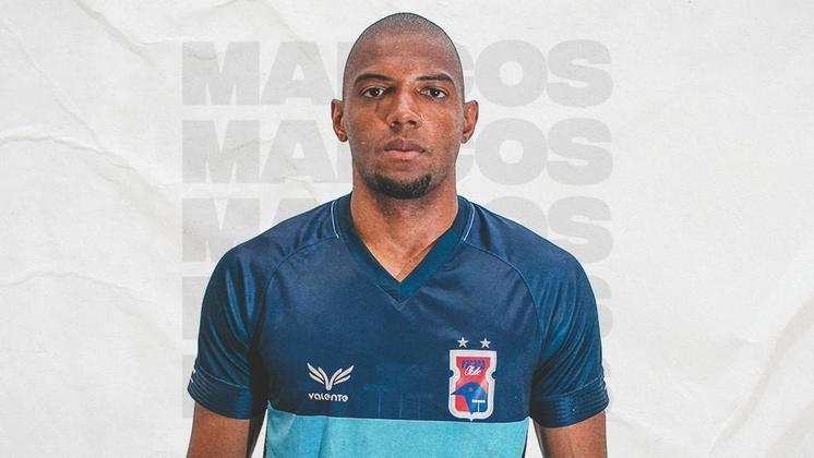 Já o goleiro Marcos foi emprestado ao Paraná até o final da Série B. Ele tem contrato com o Goiás até metade do ano que vem.