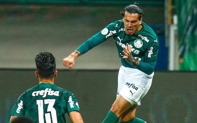 Já o Palmeiras foi líder do Brasileiro pela última vez na 11ª rodada do Brasileirão de 2019. O Verdão terminou a competição na 3ª posição, atrás de Santos e Flamengo.
