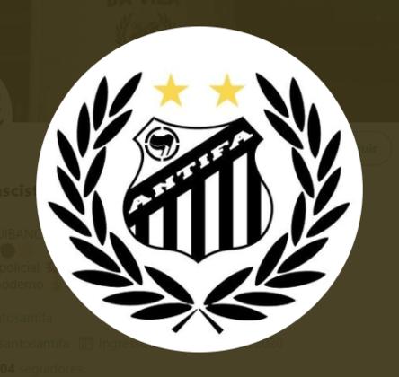 Já o Santos é representado nesta luta pelo Santos Antifascista, 'contra o fascismo, a violência policial e o futebol moderno'.