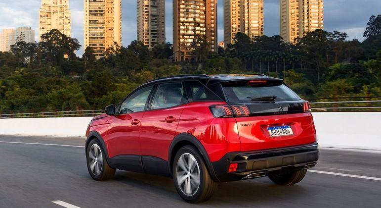 Peugeot 3008 chega em duas versões: Griffe e GT, com a mesma motorização e pequenos detalhes de conteúdo a seguir