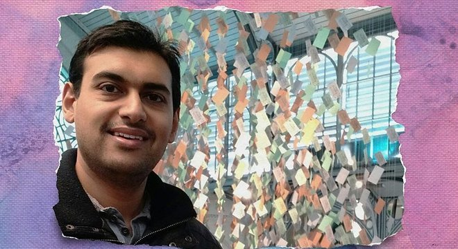 Jaabir deixou emprego na área de TI e passou a se dedicar a ajudar outros com problemas mentais