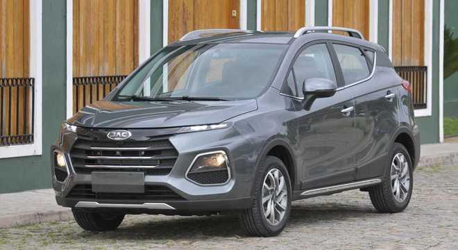 o SUV T50 recebeu uma das principais alterações.