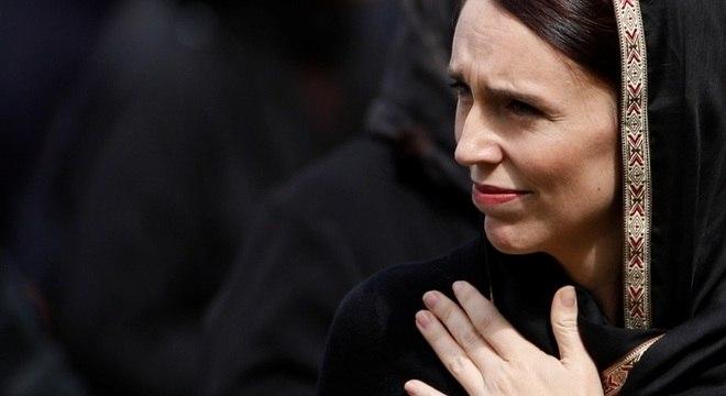 Jacinda Ardern viu sua popularidade subir 20 pontos durante a crise da covid-19