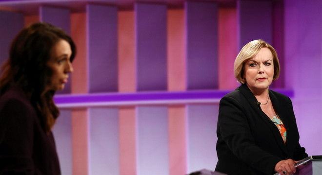 Rival de Ardern, Judith Collins, mira em conservadores e indecisos