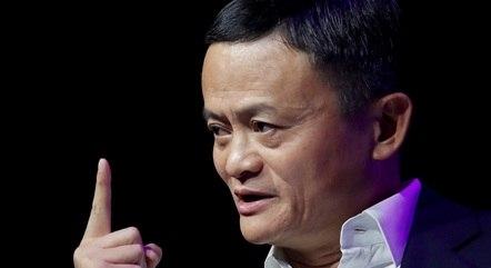 Jack Ma apareceu em uma videoconferência