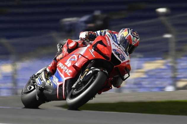 Jack Miller alinhou no segundo posto do grid