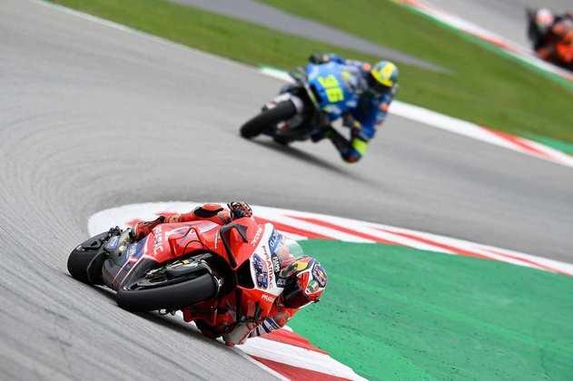 Jack Miller colocou a Ducati na ponta no primeiro dia de atividades em Le Mans
