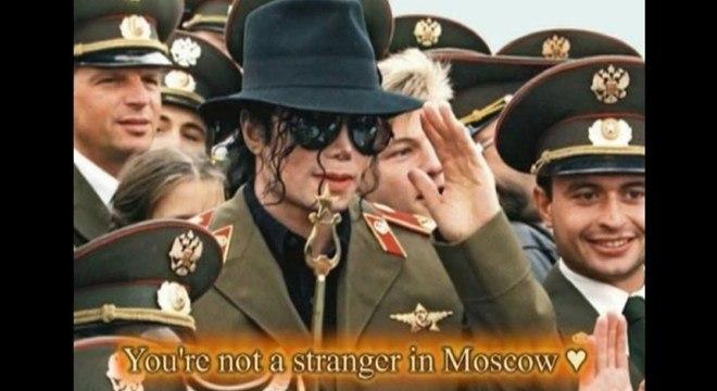 Michael Jackson no Luzhniki, em 1993